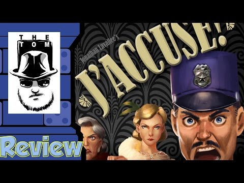 J'Accuse! Review - with Tom Vasel