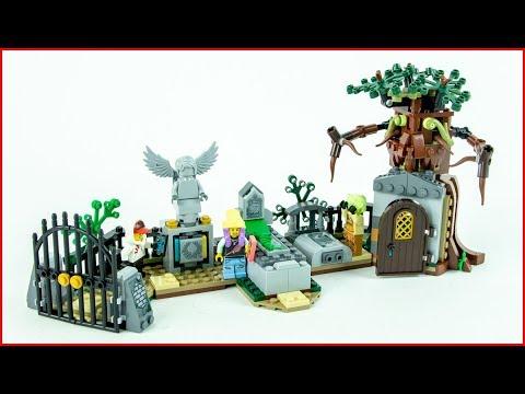 Vidéo LEGO Hidden Side 70420 : Le cimetière mystérieux