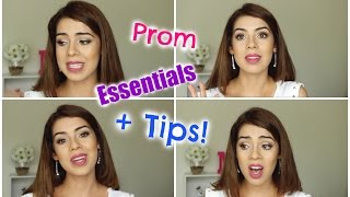 Prom Life Hacks, Essentials + Tips! | Prom Survival Guide 2015 | MissSimplyFab