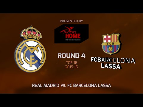 Highlights: Top 16, Round 4, Real Madrid 86-87 FC Barcelona Lassa