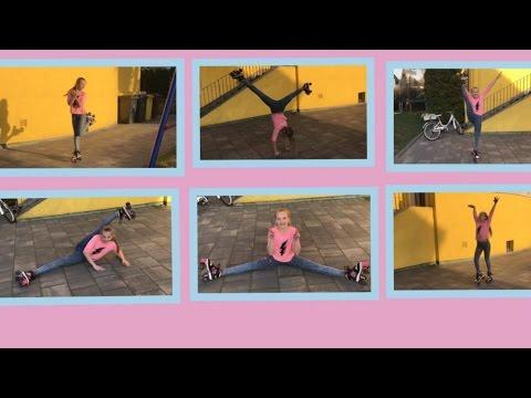 Rollschuh laufen Inliner fahren turnen 🤸♂️ und Kür auf Rollschuhen 🤸♂️ 💗 Haley's Turnwelt 💗
