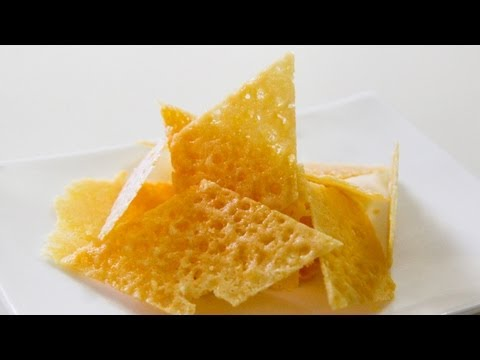 How To Make Parmesan Chips / Crisps – Video Recipe