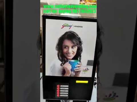 Godrej Double Option Coffee Vending Machine