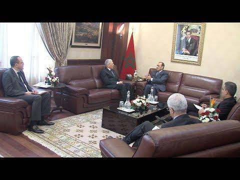 الرباط السيد المالكي يجري مباحثات مع الأمين العام لاتحاد المغرب العربي