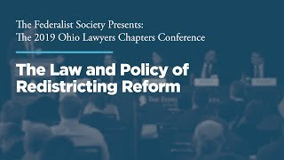Click to play: Panel 1: The Law and Policy of Redistricting Reform