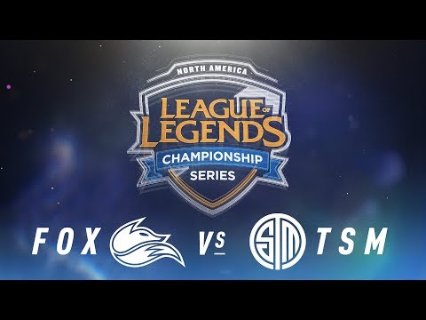 FOX vs. TSM – Week 2 Day 2 | NA LCS Spring Split | Echo Fox vs. TSM(2018)