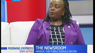 Role of media in fostering National unity-The newsroom
