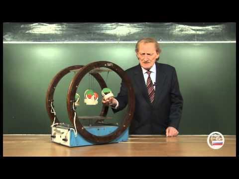 Модель намагничивания парамагнетика - демонстрация в инженерно физическим институте