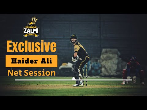 Exclusive: Haider Ali | Net Session | PSL 5 Playoffs