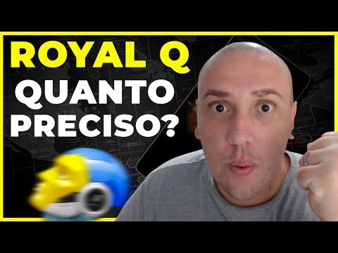 ROYAL Q - QUANTO PRECISO PARA COMEAR COM O ROYAL Q?  [RESPONDENDO DVIDAS] #ROYALQ