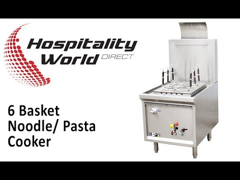 Oxford Series 6 Basket Noodle/Pasta Cooker