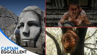 ALL Red Dead Redemption 2 Easter Eggs  - Part 2 (NEW EASTER EGGS)