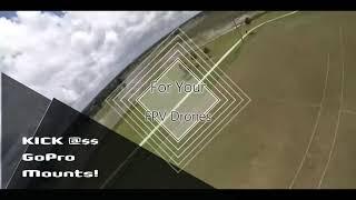 GoPro MOUNT for FPV Drones Actioncam for GoPro Hero 5,6,7,8 & 9 mount for FPV #gopro #fpv #actioncam