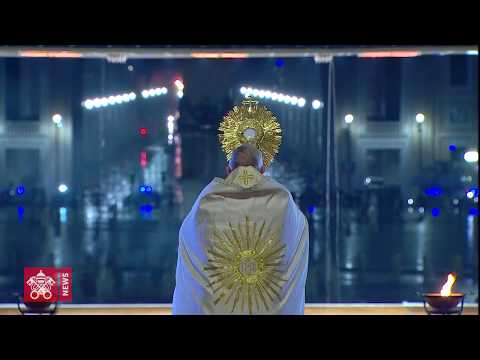 In one minute: Pope's Urbi et orbi for an end to the coronavirus pandemic