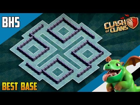 NEW BEST BH5 ANTI GIANT TROPHY[defense] Base 2019 Builder Hall 5 Trophy Base Design - Clash of Clans