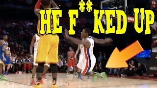 It Was At This Moment, He Knew, He F**CKED UP | NBA Edition