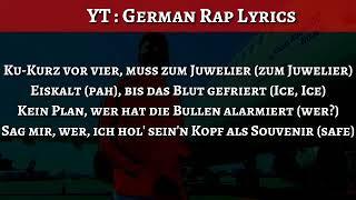 Eno   Souvenir (Official HQ Lyrics) (Text) (Download) L German Rap Lyrics