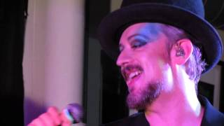 Boy George - Everything I Own - 13.Nov 2013 - live acoustic in London (Rough Trade)