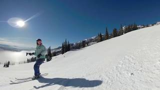 GoPro Fusion Spatial Audio Demo - Skiing