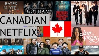 10 Shows you Should Watch on Canadian Netflix