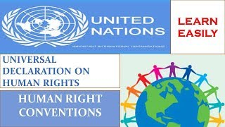Universal Declaration on Human Rights & Human Right Council