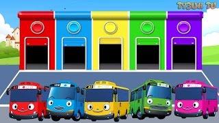 Песни для детей - Едет Tayo Тайо - Мультик про машинки - Учим цвета - Цвета для детей