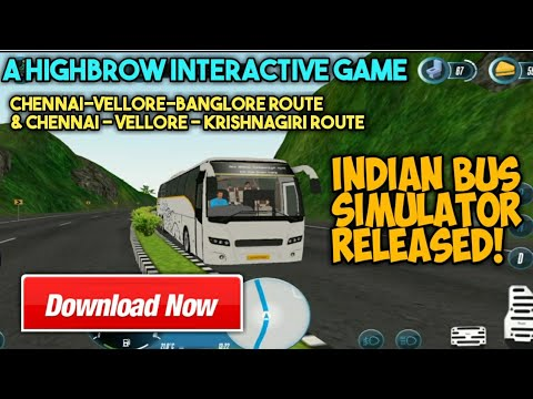 Indian Bus Simulator Released | How to download And Play It In Android?