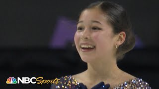 14-year-old Alysa Liu makes history again at 2020 Nationals I NBC Sports