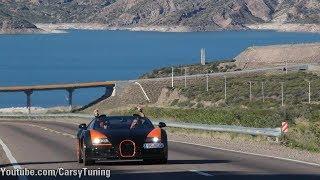 Bugatti Grand Tour Day 1 - From Santiago, Portillo to Argentina!