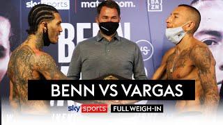 Conor Benn & Samuel Vargas' FIERY face-off! 🔥😡  Plus Courtenay vs Bridges   Full Weigh-in
