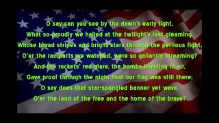 Star Spangled Banner (U.S. National Anthem - a capella)