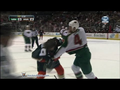 Matt Beleskey vs. Clayton Stoner