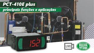 PCT-410E plus - principais funções e aplicações - Português