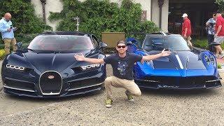 Bugatti Chirons Shut Down Monterey Car Week