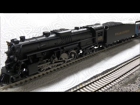 Lionel HO Polar Express Set w/Magnelock Track, Bluetooth &updates! Review! New for 2018!
