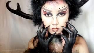 Artemis The Greek Goddess of Wild Animal  #TeamIniVindy #NYXCosmeticsID #BigThing #YTFFID