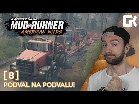 PODVAL NA PODVALU!   Spintires Mudrunner #08