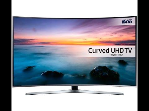 "SAMSUNG 49"" KU6100 6 Series Curved UHD 4K HDR Ready Smart TV"