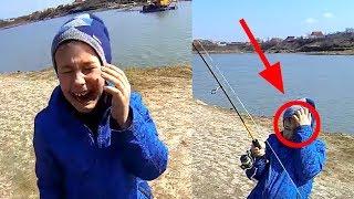 Случай на рыбалке для ребенка