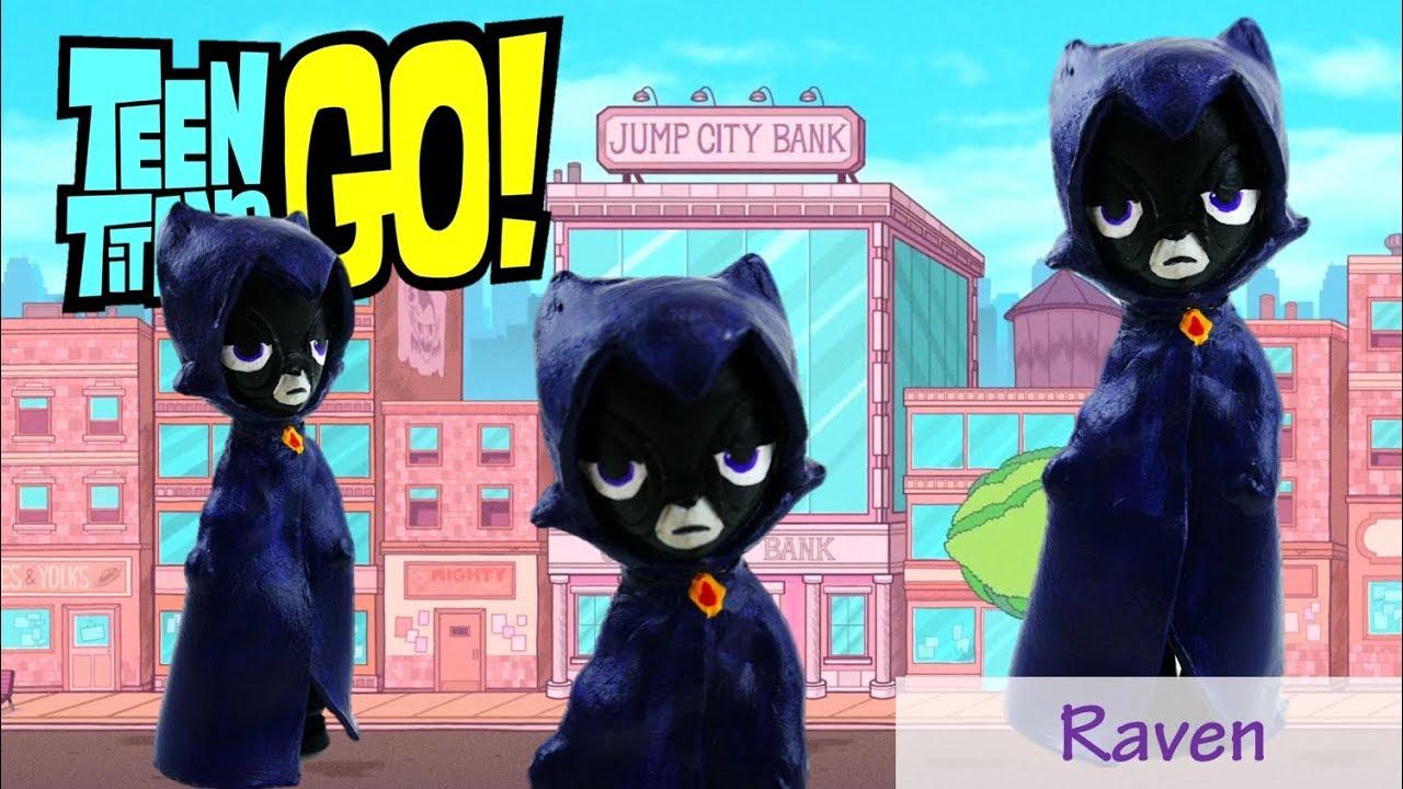 Teen Titans Go! Raven Doll My Little Pony Equestria Girls Minis Custom Tutorial