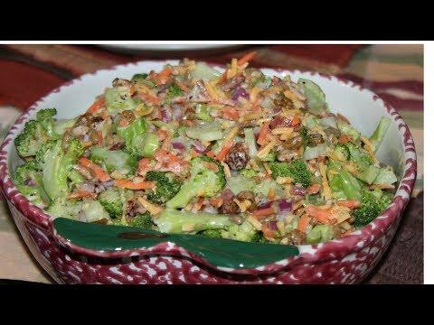 Ensalada de brócoli con zanahoria