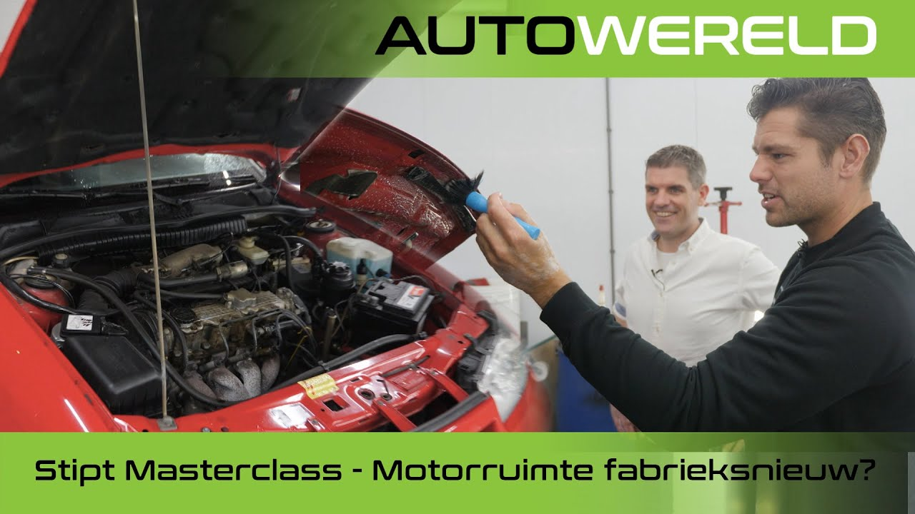 Hoe maak je jouw motorruimte fabrieksnieuw? | Stipt Masterclass