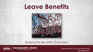 Leave Benefits Video