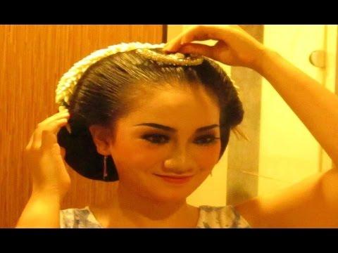 Video [TUTORIAL] Tips Cara SANGGUL JAWA Tanpa Sasak Rambut - Javanese Hair Style [HD]