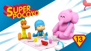 Super Pocoyo has become a superhero to help others