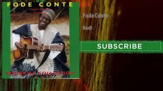 Fode Conte - Kadi