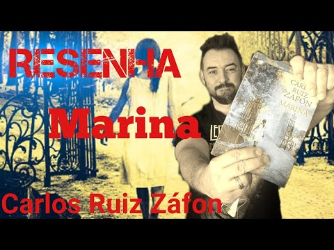 RESENHA | LIVRO | MARINA - CARLOS RUIZ ZAFÓN - LIVRO INFANTO JUVENIL