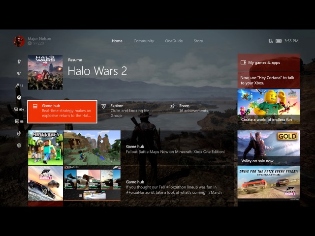 Xbox One Update Brings Beam Streaming, Updated Home, and