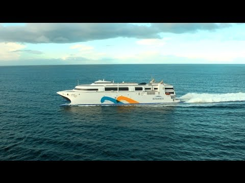 World's fastest ferry with over 1000 passengers and 150 ...