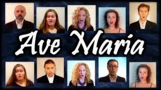 Ave Maria Angelus Domini (Franz Biebl) - A Virtual Choir Multitrack